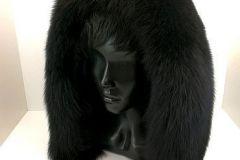 Меховая-опушка-черный-песец